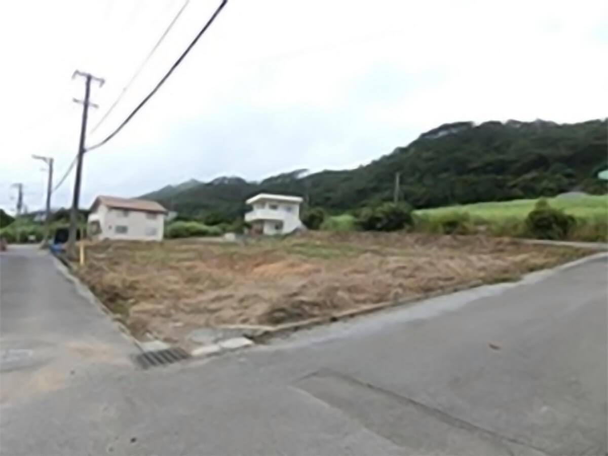 南国沖縄県石垣市の更地の概要画像