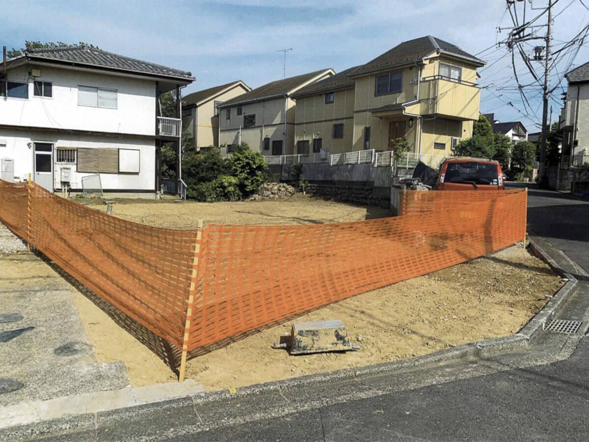 聖蹟桜ヶ丘の閑静な住宅地の概要画像