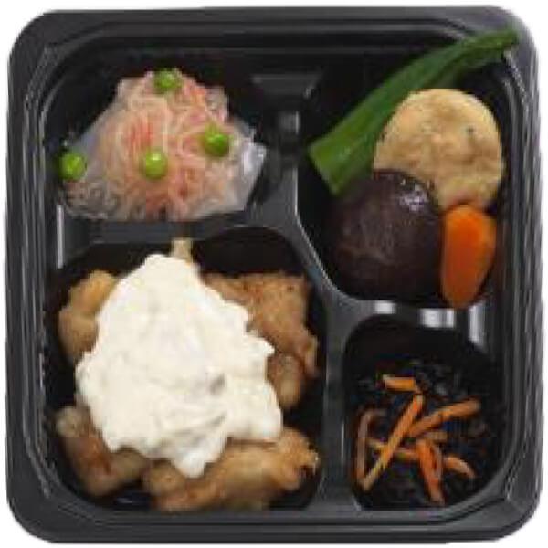無料の昼食メニューチキン南蛮宮崎風の画像