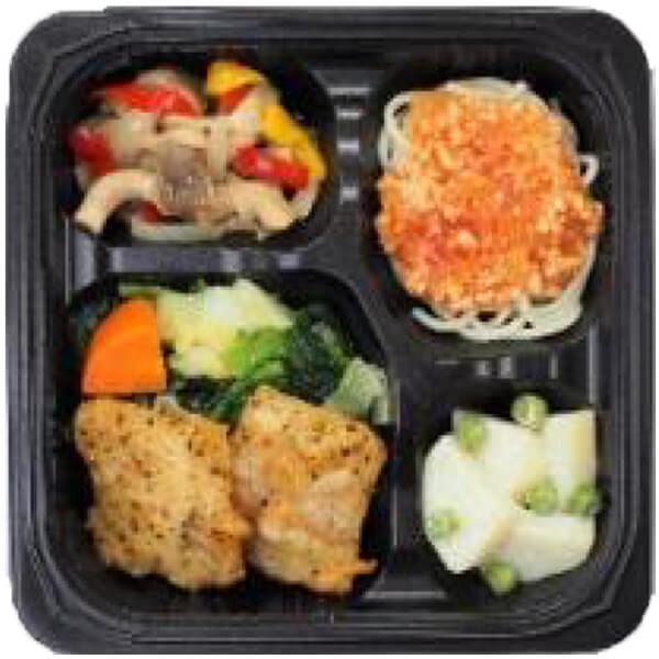 無料の昼食メニューレモンハーブチキンの画像