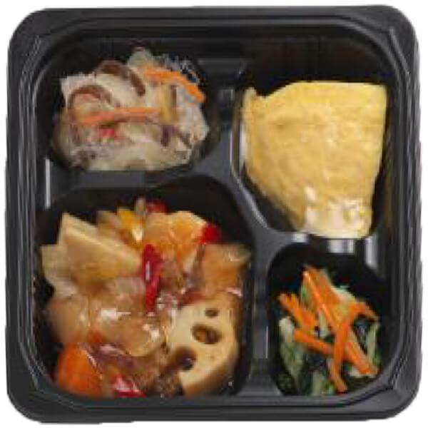 無料の昼食メニュー酢豚の画像