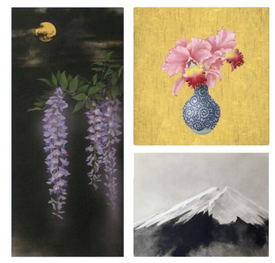 日本画・水墨画家飯名京美先生誰でも描けるイラスト講座画像2